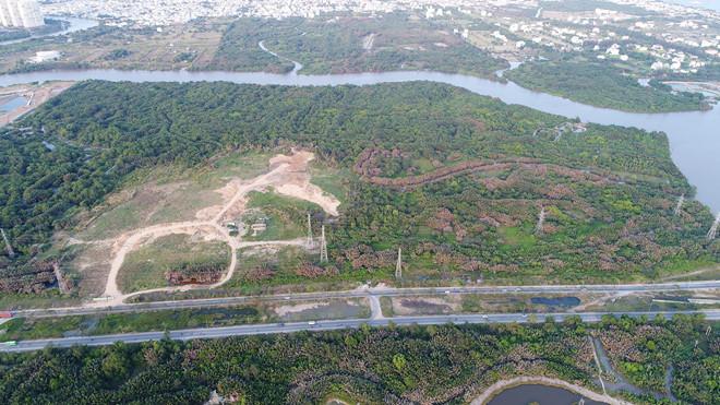 dự án treo ở huyện Nhà Bè